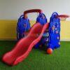 Cầu trượt xích đu voi cho bé PL0617
